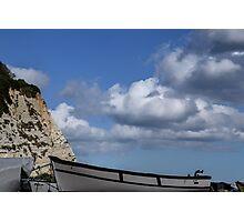 Cloudy Beer, Devon UK Photographic Print