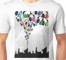 DJ Headphone Factory Unisex T-Shirt