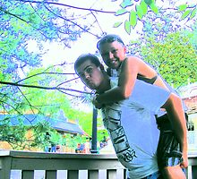 Matt and Kaylee at Dollywood by raindancerwoman