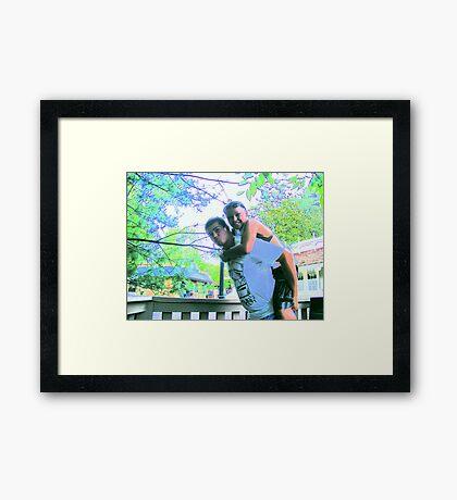 Matt and Kaylee at Dollywood Framed Print