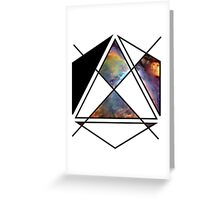 space shapes Greeting Card