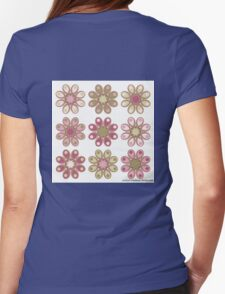 Rose Garden Foot Flowers T-Shirt