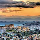 A warm afternoon in Athens by StamatisGR
