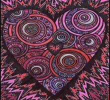 Burning Heart by ZaMoArts