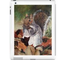 Grey Squirrel iPad Case/Skin