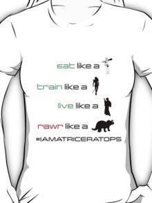 CaveWoman/Warrior/Rebel/Triceratops T-Shirt