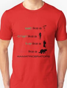 CaveWoman/Warrior/Rebel/Triceratops Unisex T-Shirt
