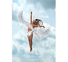 A Lone Angel Photographic Print