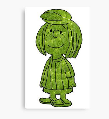 Peppermint Leaf Patty! Canvas Print