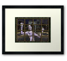 Let .. Me .. In Framed Print