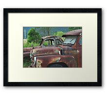 Rusty And Me Framed Print