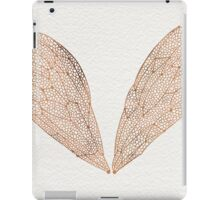 Cicada Wings in Rose Gold iPad Case/Skin