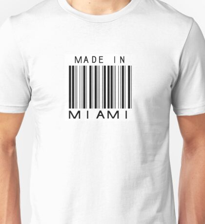 Made in Miami Unisex T-Shirt