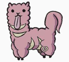 Alpacamon - Lickitung One Piece - Short Sleeve