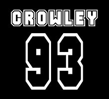 Crowley - 93 by fearandclothing