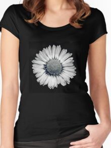 Retro Daisy Women's Fitted Scoop T-Shirt