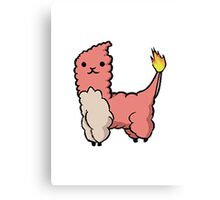 Alpacamon - Charmeleon Canvas Print