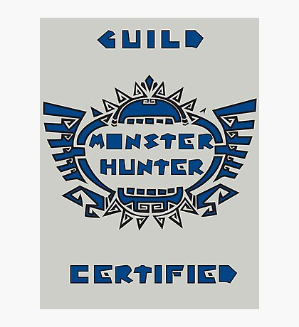 Guild Certified Photographic Print