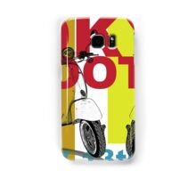 Tokyo Scooter Rally Poster  Samsung Galaxy Case/Skin