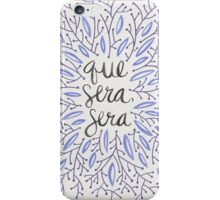 Whatever Will Be, Will Be (Lavender Palette) iPhone Case/Skin