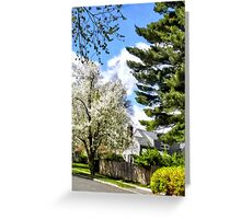 Spring Came Late This Year Greeting Card
