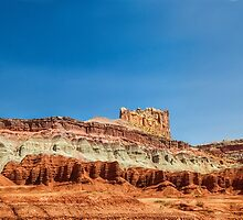 Arches Castle Panorama by Bo Insogna
