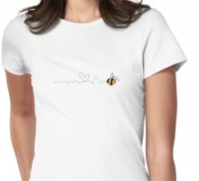 bee love trail Womens Fitted T-Shirt