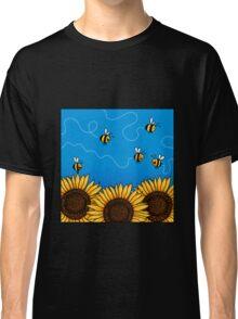Sunflower Bee Trails Classic T-Shirt