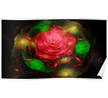 Abstract of Floral Poster