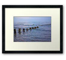 Sea Defence Framed Print
