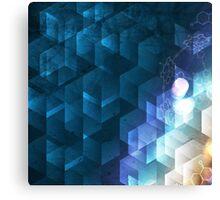DNA Cube Canvas Print