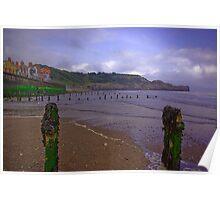 Sandsend Beach Poster