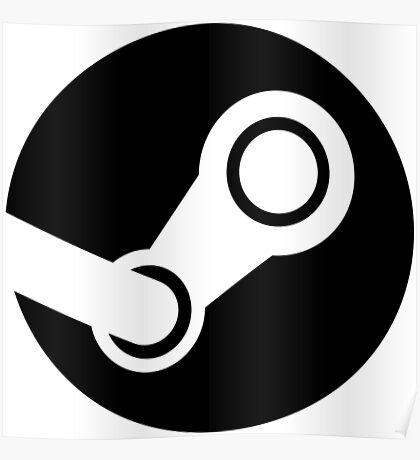 Modern Steam Logo - High Fidelity Poster
