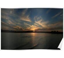 Strahan Sunset Poster