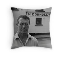 Jim; owns the Bar Throw Pillow