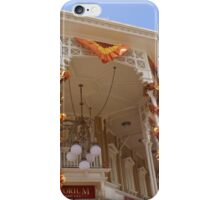 Main Street Emporium in Fall iPhone Case/Skin