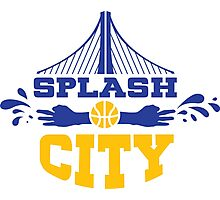 Splash City Photographic Print