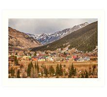 Beautiful Silverton Colorado Art Print