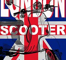 London Scooter Rally by Edward Fielding