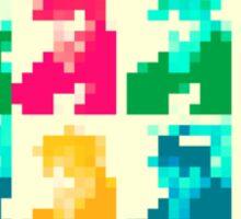 8-Bit Dimension (PopHOL light version) Sticker