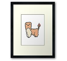 Alpacamon - Charmander Framed Print