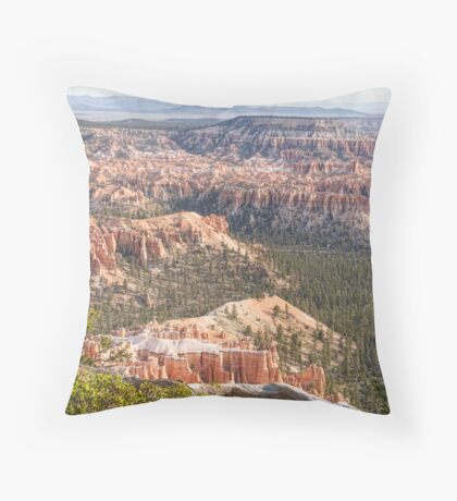 Bryce Canyon National Park Views Throw Pillow