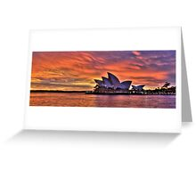 Greeting The Morn- The Photographers Cut  - Moods Of A City - The HDR Series Greeting Card