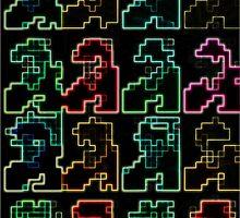 8-Bit Dimension (PopHOL dark version) by isladelrisco