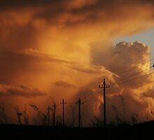 power in the sky by Alan Mattison