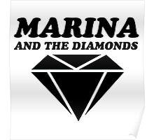 MARINA & THE DIAMONDS LOGO Poster