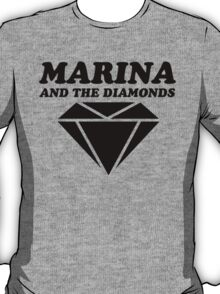 MARINA & THE DIAMONDS LOGO T-Shirt