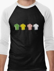 Colours of the TDF Men's Baseball ¾ T-Shirt