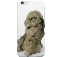 Crocodilian sculpture (coloured) iPhone Case/Skin