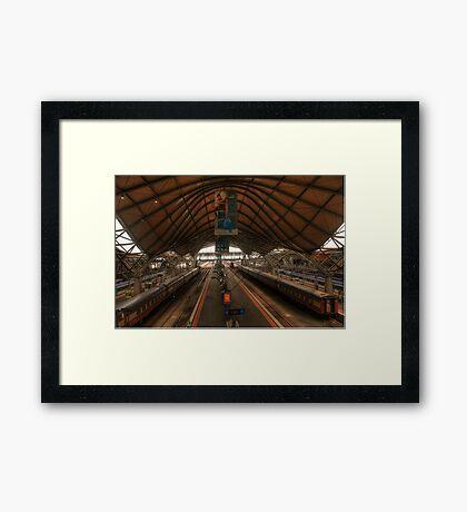 Southern Cross Station Framed Print